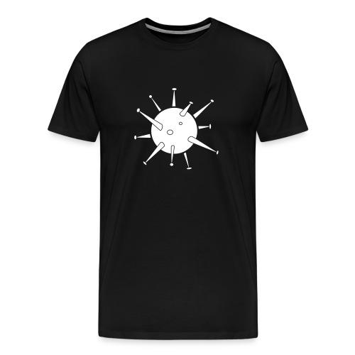 Bacteriophobia / fear of bacteria - Männer Premium T-Shirt