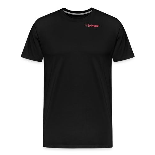 solongan transparent logo stor png - Premium-T-shirt herr