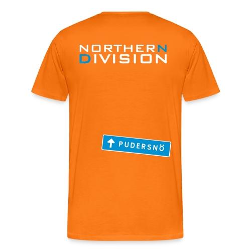 pudersn_2vari - Miesten premium t-paita
