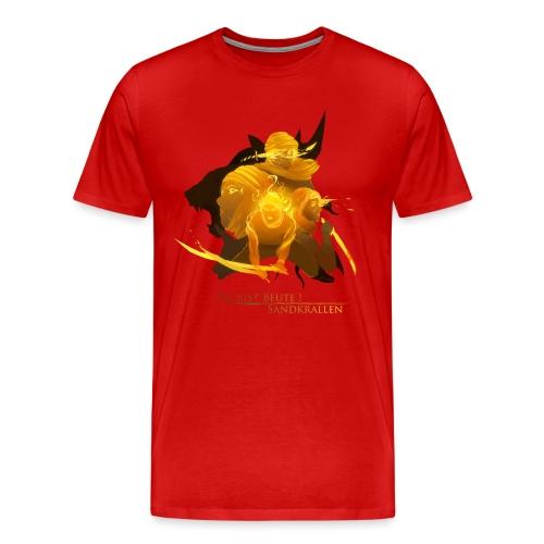AmazónaMégista Sandkralle - Männer Premium T-Shirt