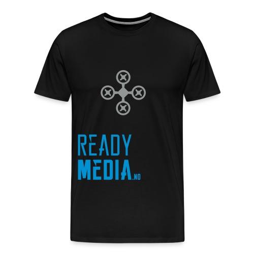 drone_til_hette - Premium T-skjorte for menn