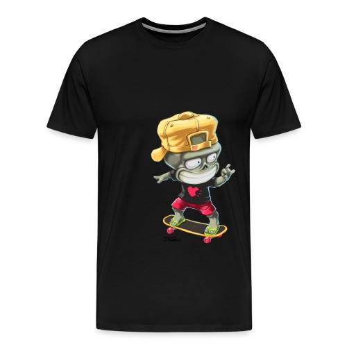 Skate and Die 01 - T-shirt Premium Homme