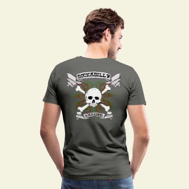 Rockabilly Raredog Skull