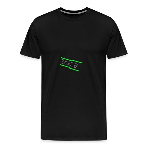 Green ZAK B png - Men's Premium T-Shirt