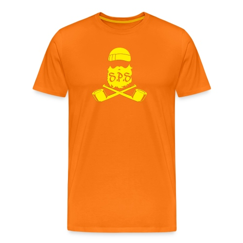 logga kunggul - Premium-T-shirt herr