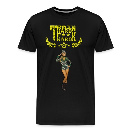 trainhard - T-shirt Premium Homme