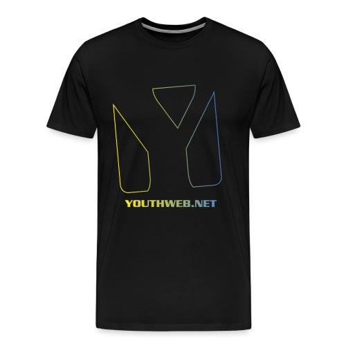 yw_LogoShirt_gradient@3x - Männer Premium T-Shirt