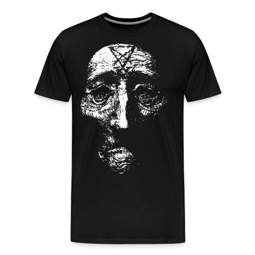 sigilhuvudgubbehalsband png - Premium-T-shirt herr