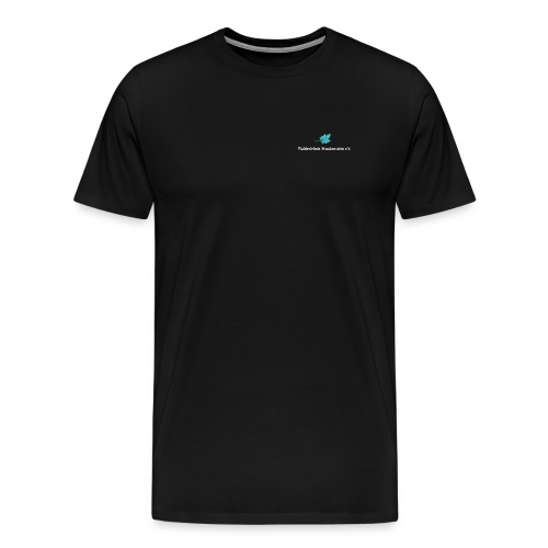 wef logo weisse schrift - Männer Premium T-Shirt