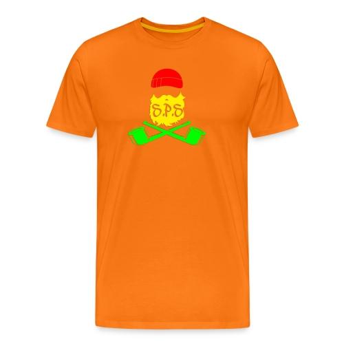 logga rasta - Premium-T-shirt herr