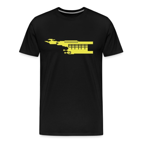 Hunter Pixel - Men's Premium T-Shirt