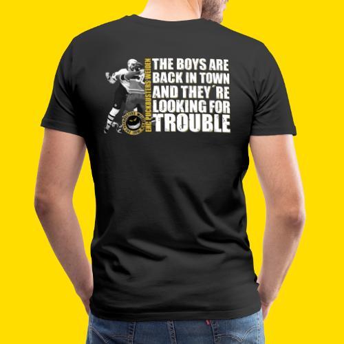 boysareback PUCKBUSTERS Shirt - Männer Premium T-Shirt