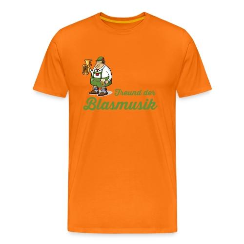 Freund der Blasmusik - Männer Premium T-Shirt