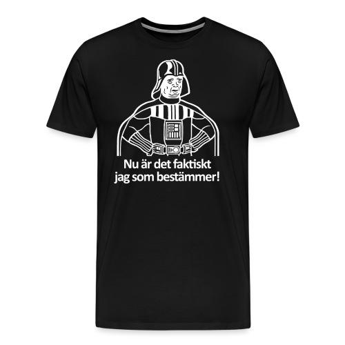 darthjäregård bestämmer - Premium-T-shirt herr
