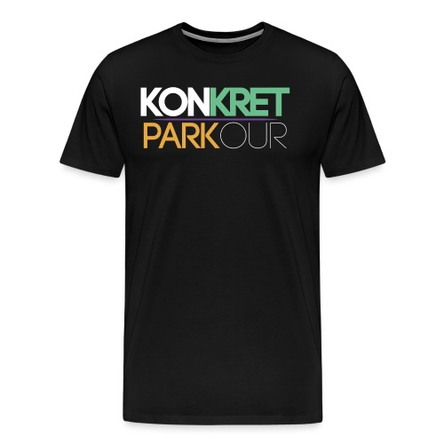 konkret parkour simple yt - Premium-T-shirt herr