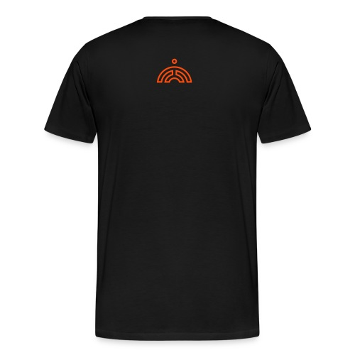 svg - GWOC MONK - Line - Men's Premium T-Shirt