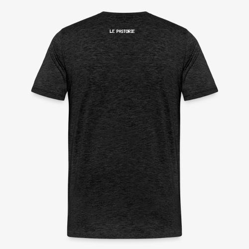 Subtiel_Wit - Mannen Premium T-shirt