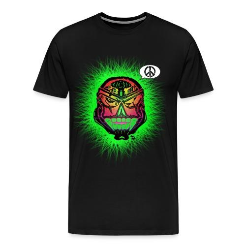 Grinning Wolf Designs logo - Men's Premium T-Shirt
