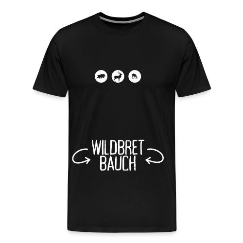wildbretbauch2 png - Männer Premium T-Shirt