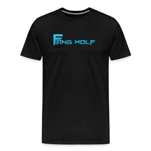 Fang Wolf Logo - Men's Premium T-Shirt