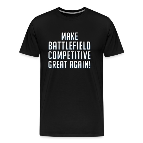 mbga front png - Männer Premium T-Shirt