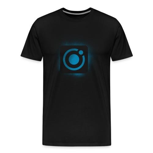 protonica icon square brush 2 - Men's Premium T-Shirt