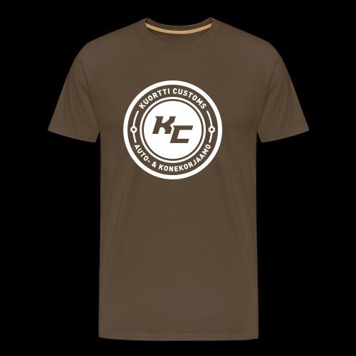 kc_tunnus_musta_uusi2 - Miesten premium t-paita