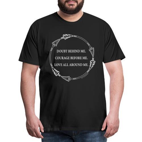 Arrow Circle Tee Design - Men's Premium T-Shirt