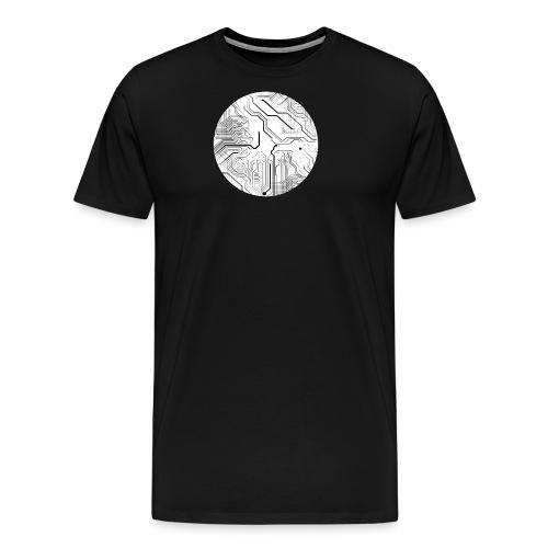 Electronic Network - Männer Premium T-Shirt