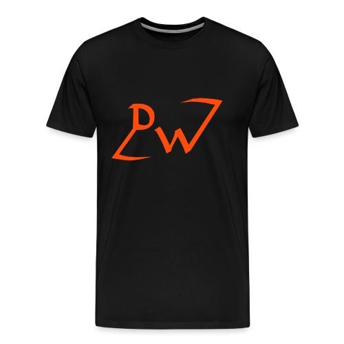 Ausgeschriebenes EMBLEM - Männer Premium T-Shirt