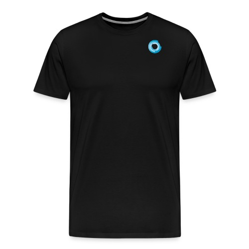 T Shirt Single Logo v02 png - Männer Premium T-Shirt