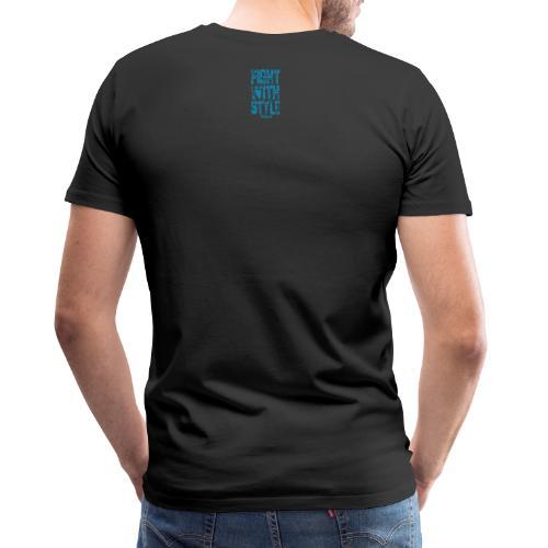 Fightwithstyle Berlin Block Langarm Lady Shirt - Männer Premium T-Shirt