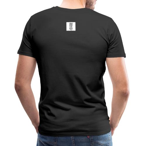 hasenquadrat 01 - Männer Premium T-Shirt
