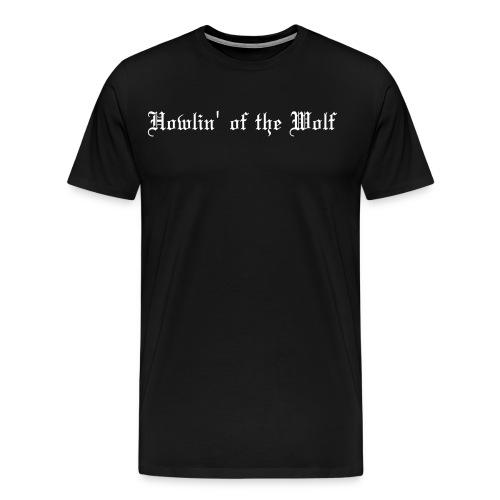 wolf logo paths - Men's Premium T-Shirt