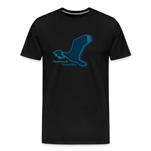 Eagle1 trans png - Männer Premium T-Shirt