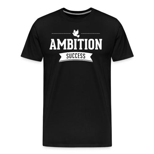 succes_white - Männer Premium T-Shirt