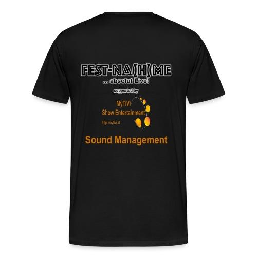MyTiVi RückenLogo2 Groß - Männer Premium T-Shirt