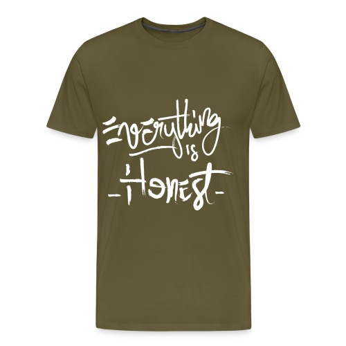 everything is honest png - T-shirt Premium Homme