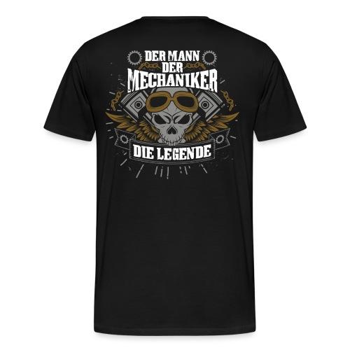 Bist Du eine Mechaniker-Legende? Geschenk - Männer Premium T-Shirt