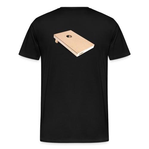Cornhole Board - Männer Premium T-Shirt