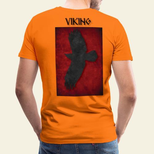 ravneflaget viking - Herre premium T-shirt