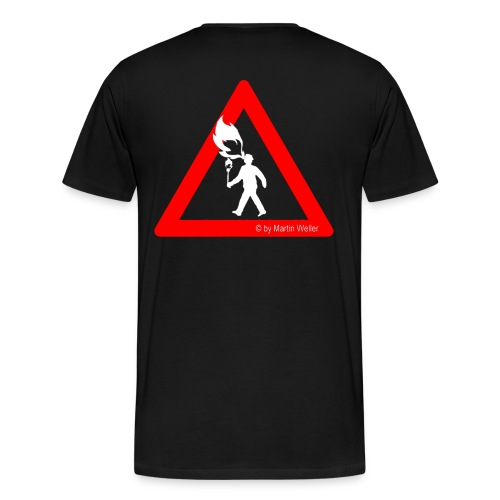Dragon Shirt & NAME - Männer Premium T-Shirt