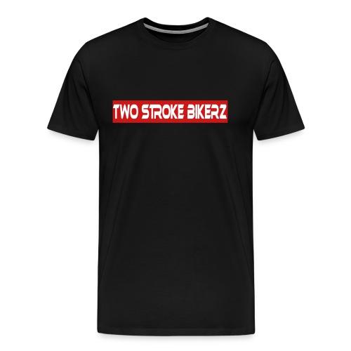 TSB Schriftzug rot weiß png - Männer Premium T-Shirt