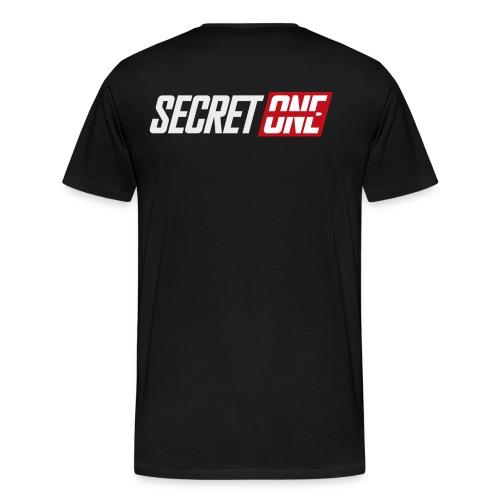 SecretOne new logo - Premium-T-shirt herr