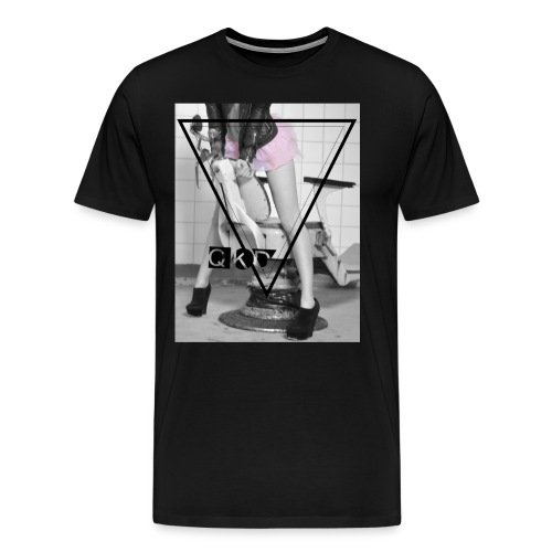 Pinker Tütü jpg - Männer Premium T-Shirt