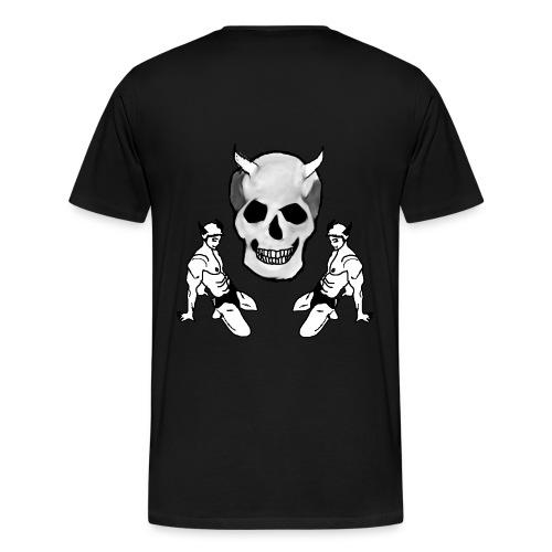 skull1 png - Men's Premium T-Shirt