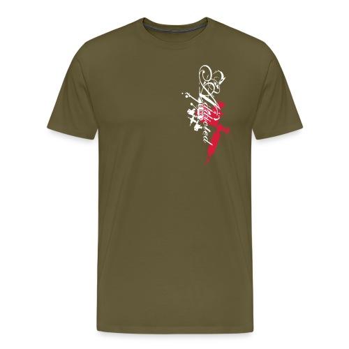 addicted - Männer Premium T-Shirt