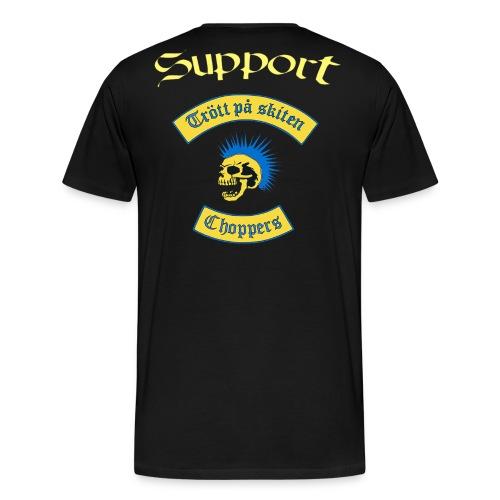 Supporter logga - Premium-T-shirt herr