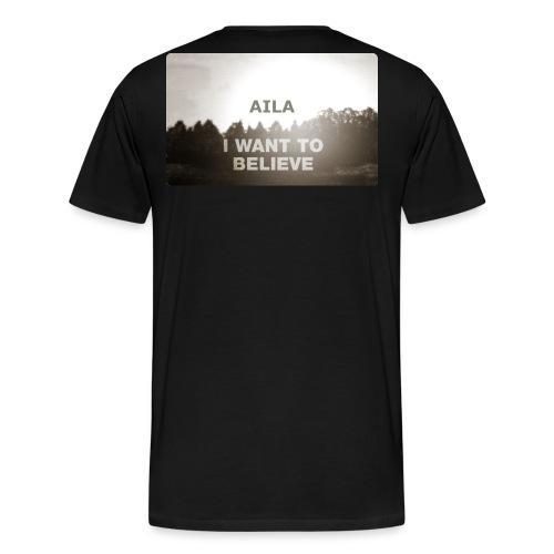 aila ok png - Miesten premium t-paita