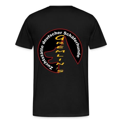 gremlinslogo - Männer Premium T-Shirt